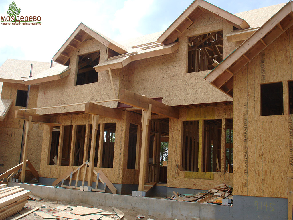 Из чего строить стены деревянного дома